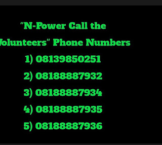 Npowerng real phone numbers