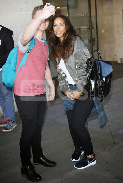 Leona Lewis with Fan