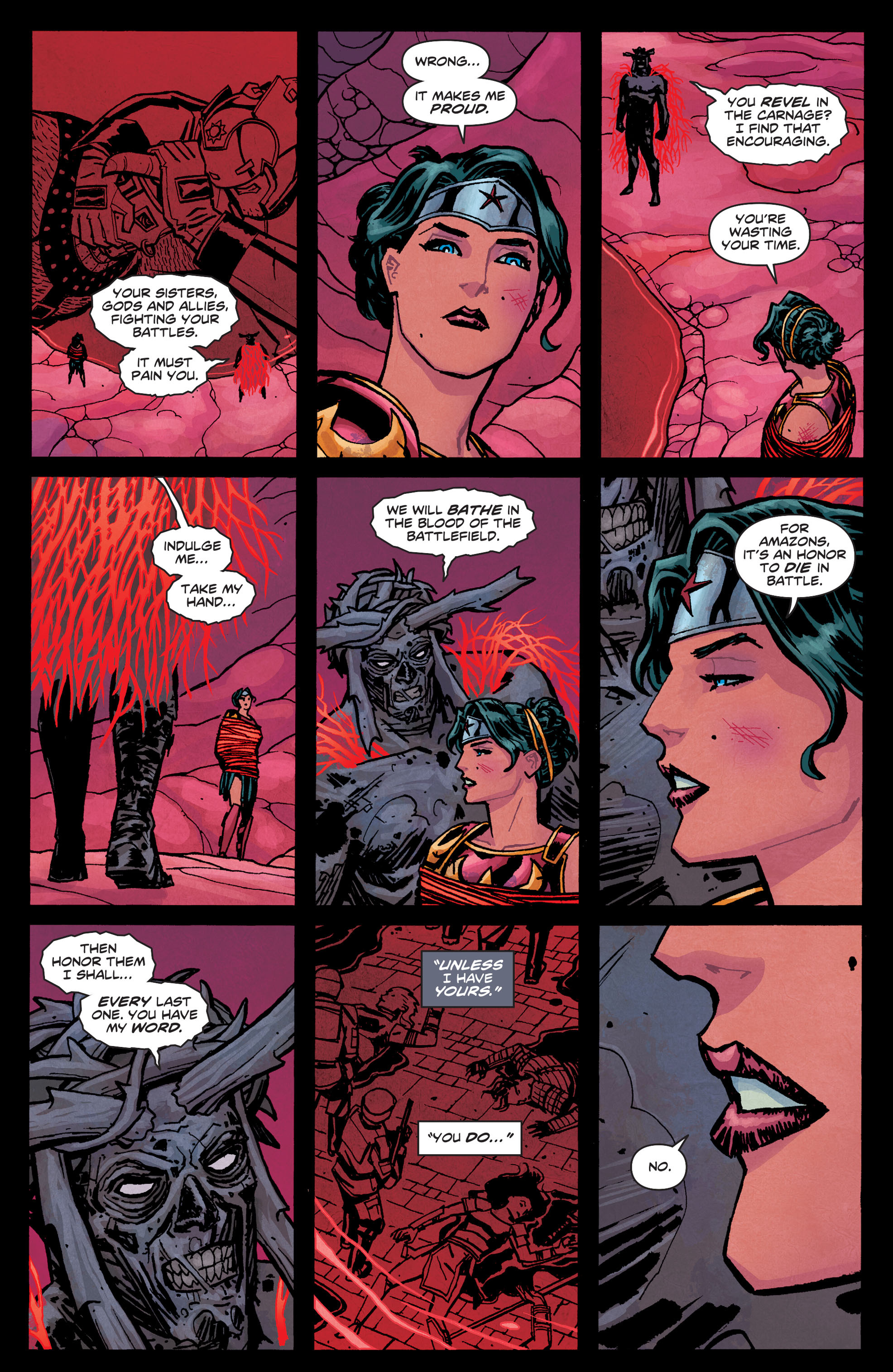 Read online Wonder Woman (2011) comic -  Issue #33 - 14