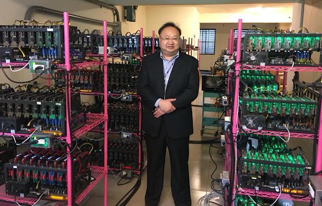 盧瑞山教授 受聘於某專業礦場經營團隊擔任區塊鏈技術顧問