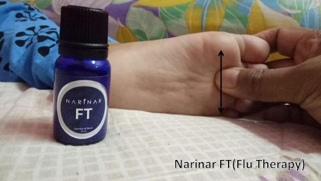 Cara hilangkan batuk dan selsema pada bayi dengan Narinar Theraphy
