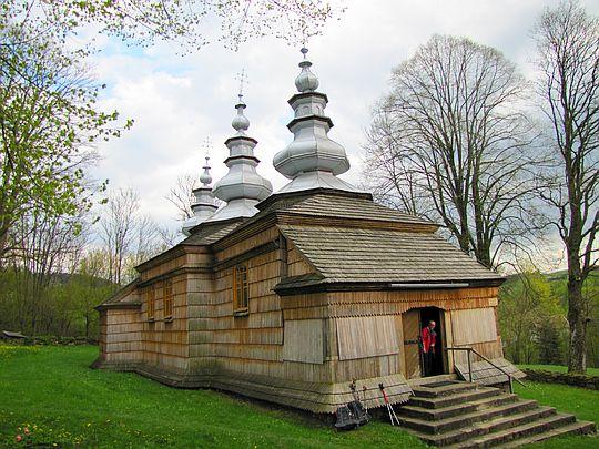 Cerkiew św. Mikołaja w Rzepedzi.