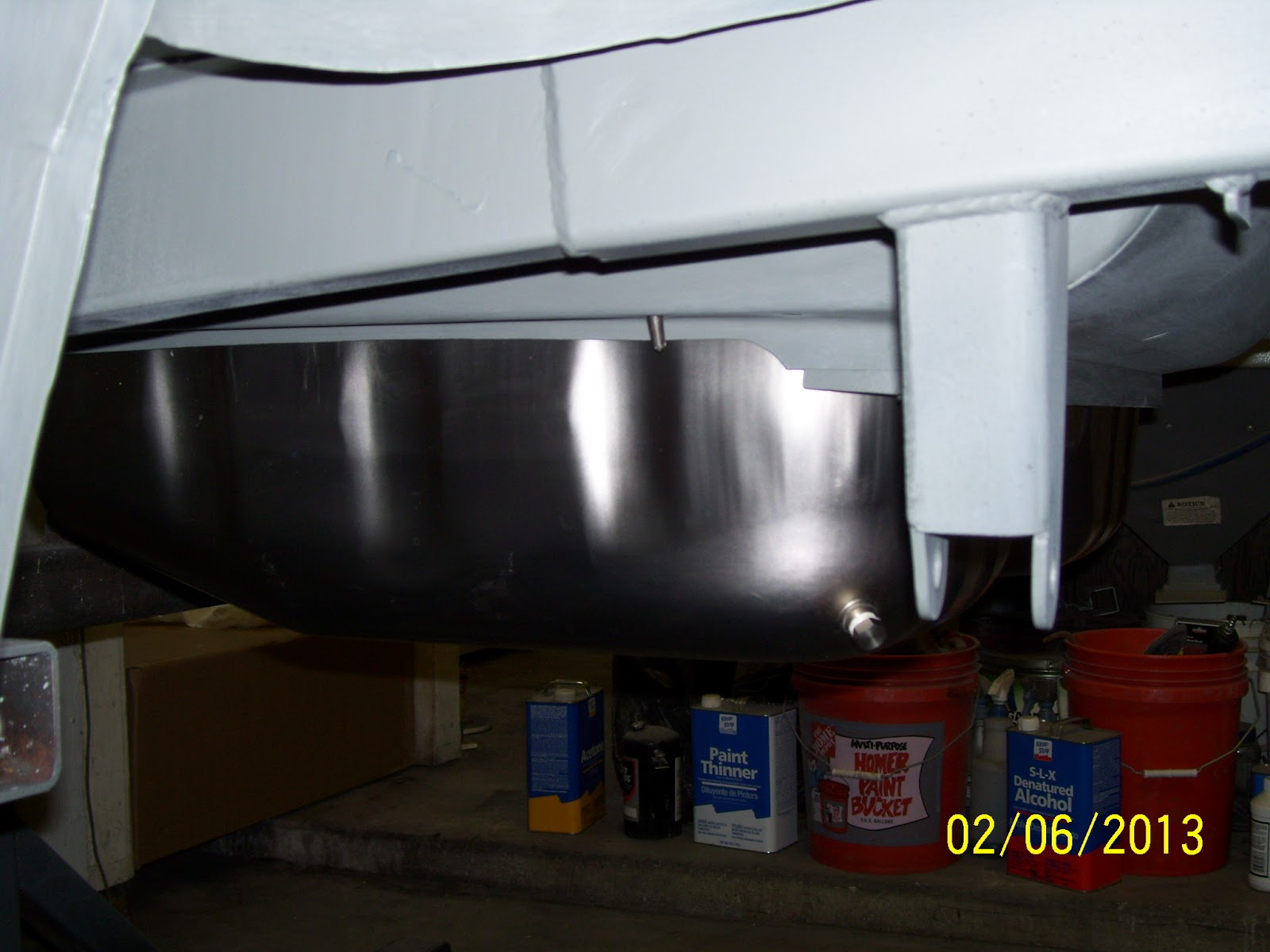 Night Mission Boss 302 Blog: Fitting a Stainless Fuel Tank