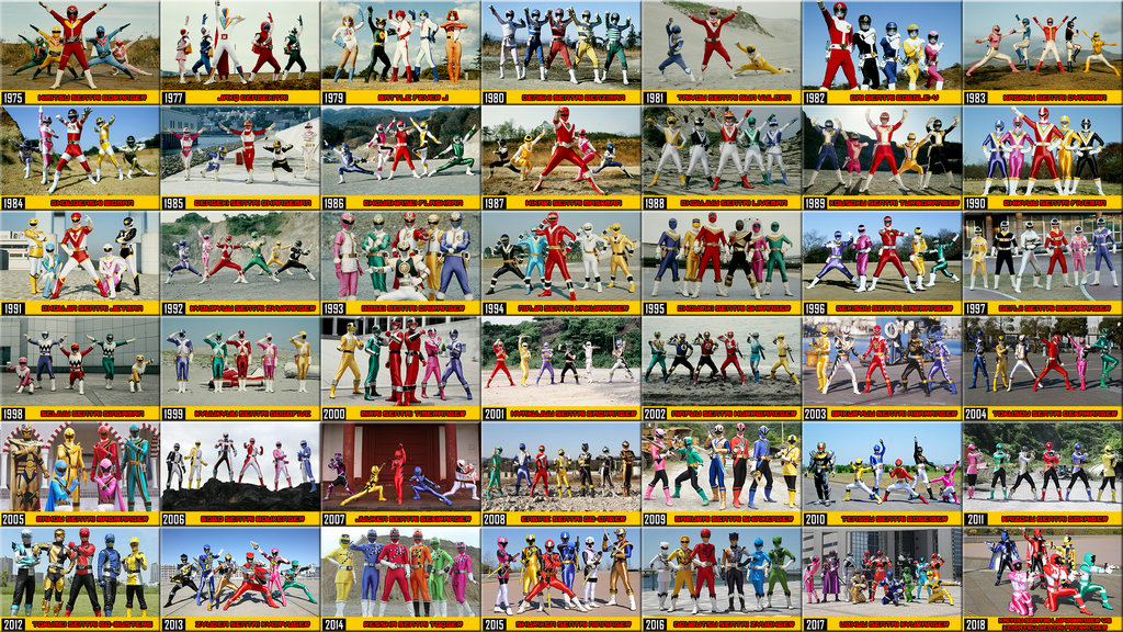 Inilah 10 Super Sentai Era Heisei Pilihan Fans!