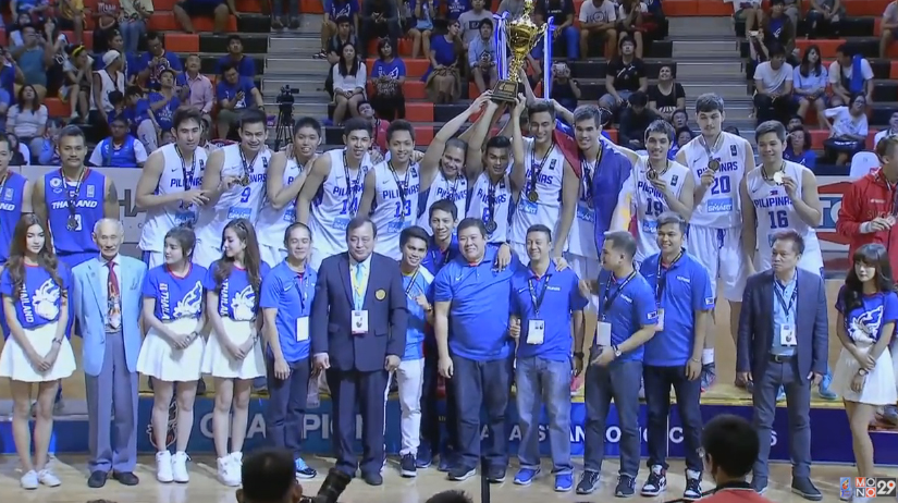 2016 SEABA Stankovic Cup Final Standings | Gilas Cadets