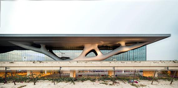 Futurix l architettura organica del qatar national for Blog architettura