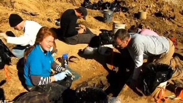 Cadaveres enterrados en la universidad de Mississippi