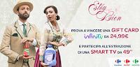 Logo Carreofur ''Estoy Bien'': vinci gratis 76 Card Infinity e 1 Smart TV