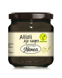 Allioli de ajo negro Vegan Olivera d'Atenea