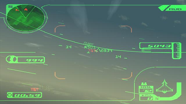 Ace Combat 3: Electrosphere Captura 4
