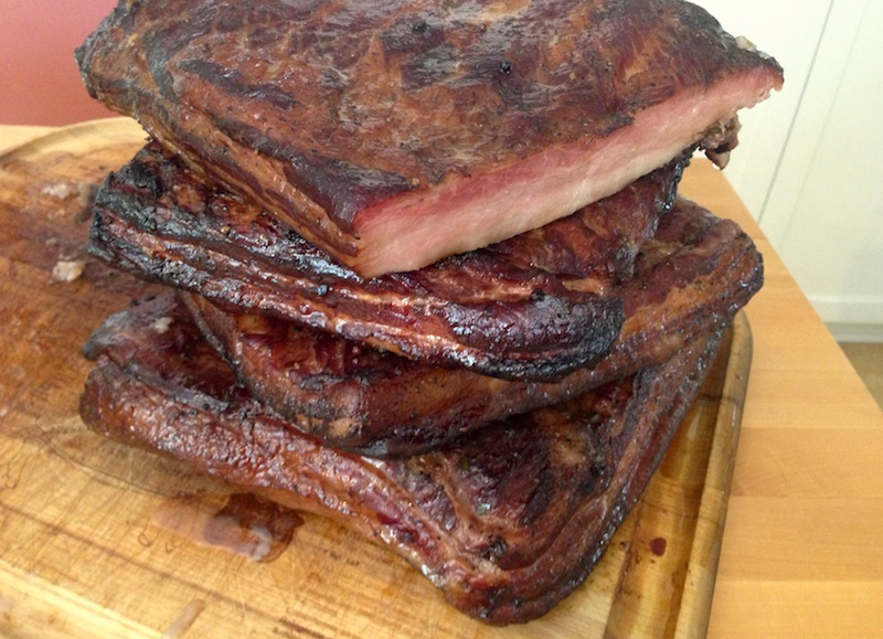 Good Stuff NW: Taking the Cure: Home-Smoked Bacon