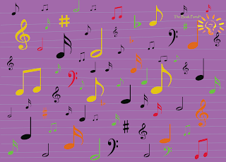 melody madness lots of music notes