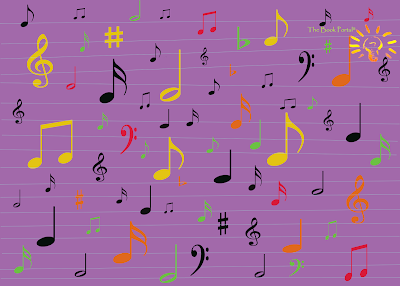 music notes to describe song sound
