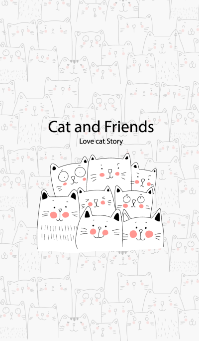Cat and Friends