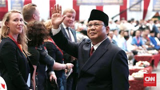 Calon presiden no urut 02, Prabowo Subianto - Foto: CNN Indonesia