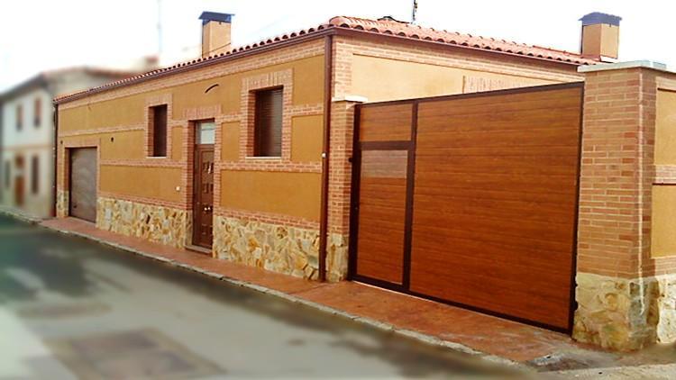 proyecto de vivienda unifamiliar en tierra de campos – fachada calle
