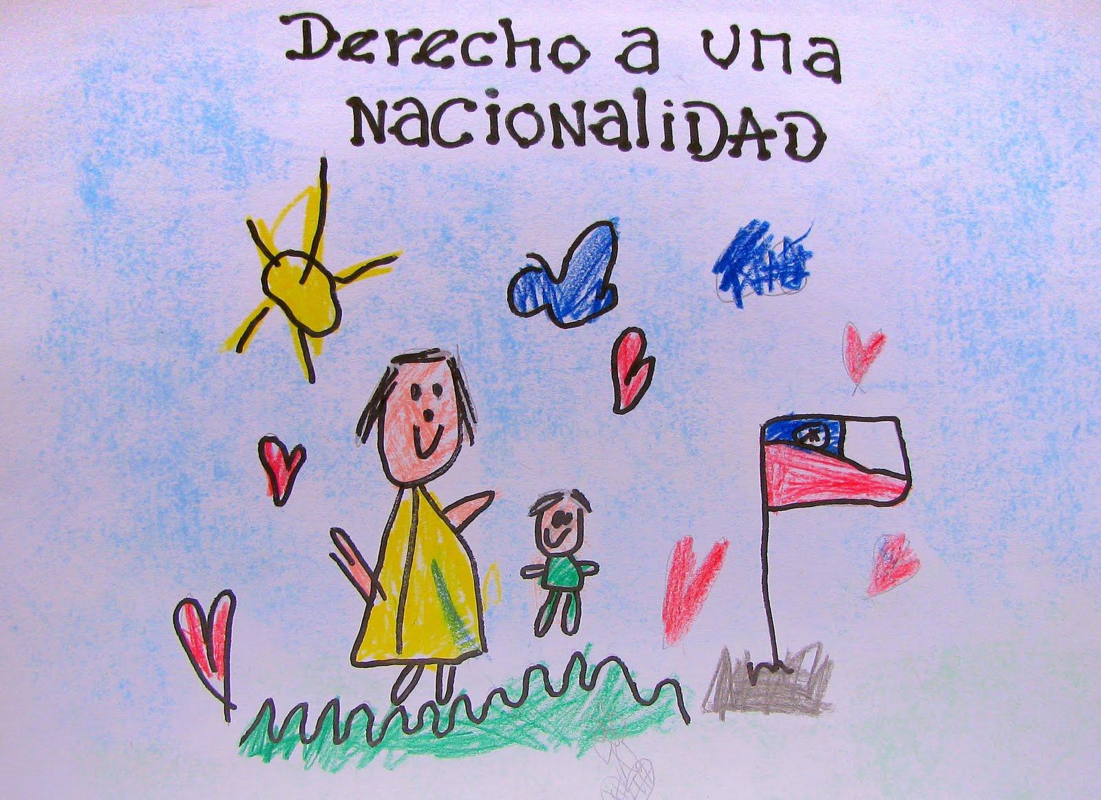 Dibujos De NiÑos Por Nacionalidades: Red Infanto Juvenil De Arica: Niños Pintando Sus Derechos