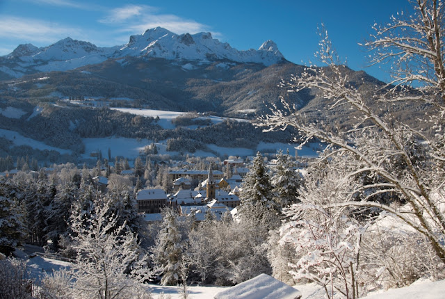 WINTER IN DE HAUTE-PROVENCE (1) - VALLEE DE L'UBAYE