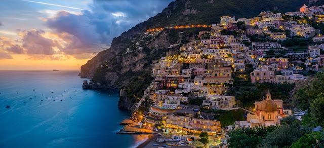 Sobre a Ilha de Capri