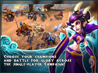 Wartide: Heroes of Atlantis Apk v0.7.6 Mod (No Skill Cool-Down)-3