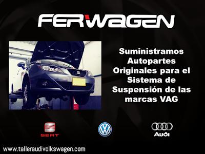 Ferwagen Mantenimiento Sistema Suspension