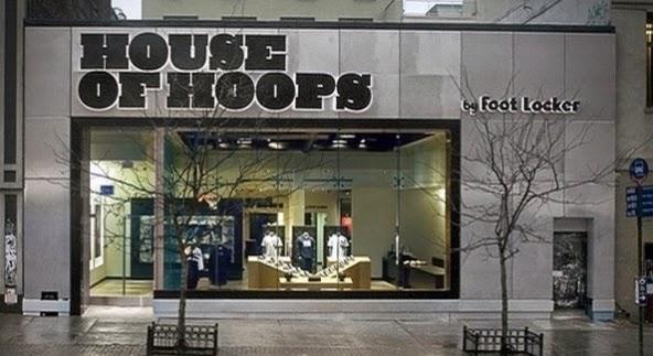 Loja de tênis House of Hoops by Foot Locker em Nova York