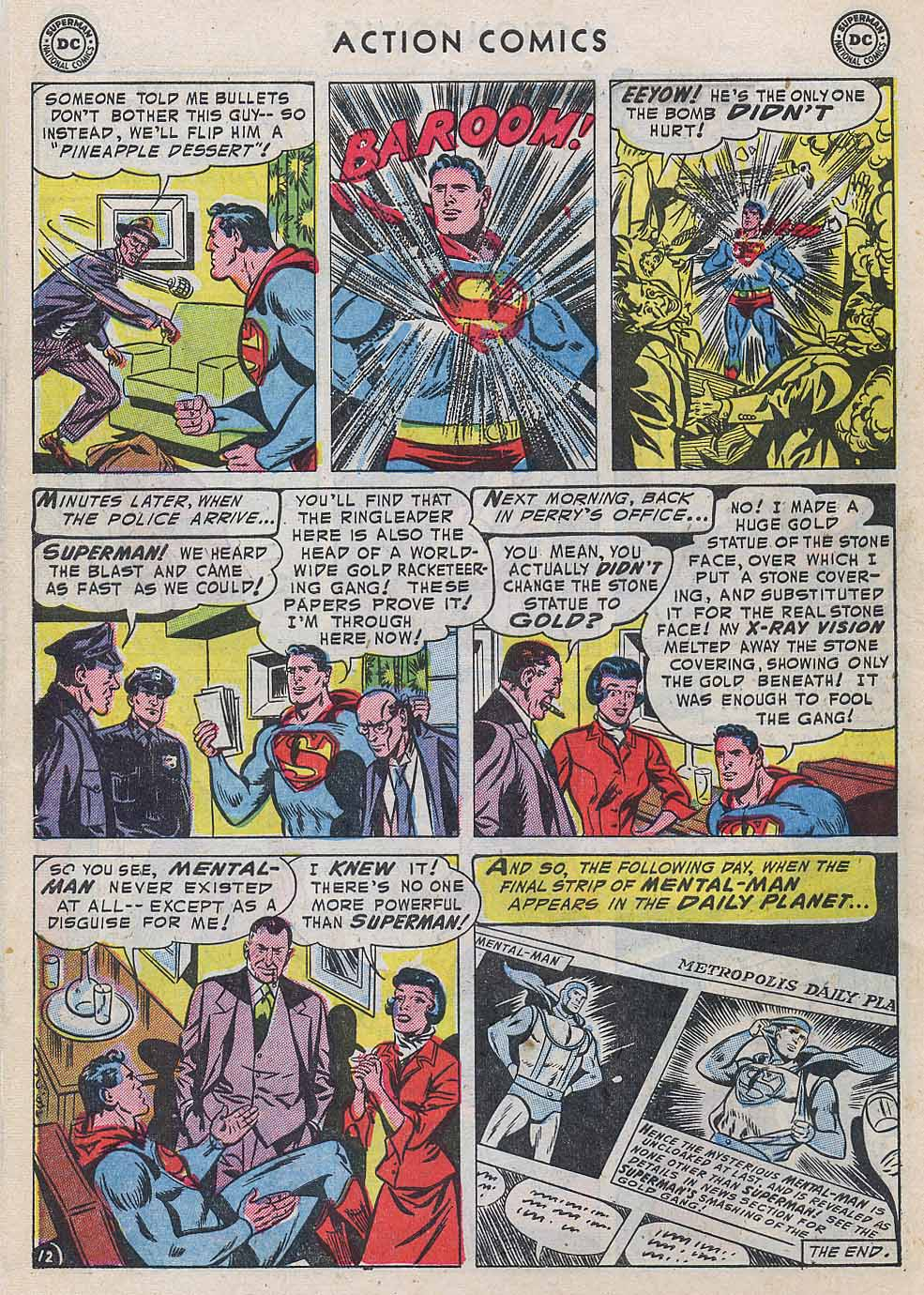 Read online Action Comics (1938) comic -  Issue #196 - 14