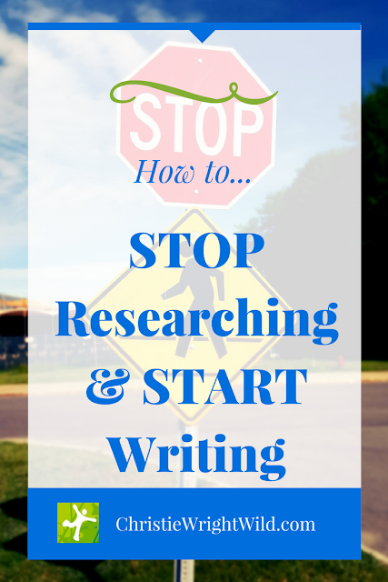 STOP Researching & START Writing || How to know when to stop preparing and just do it, when to start writing, when to stop writing, when to begin research, how to know when you're finished researching