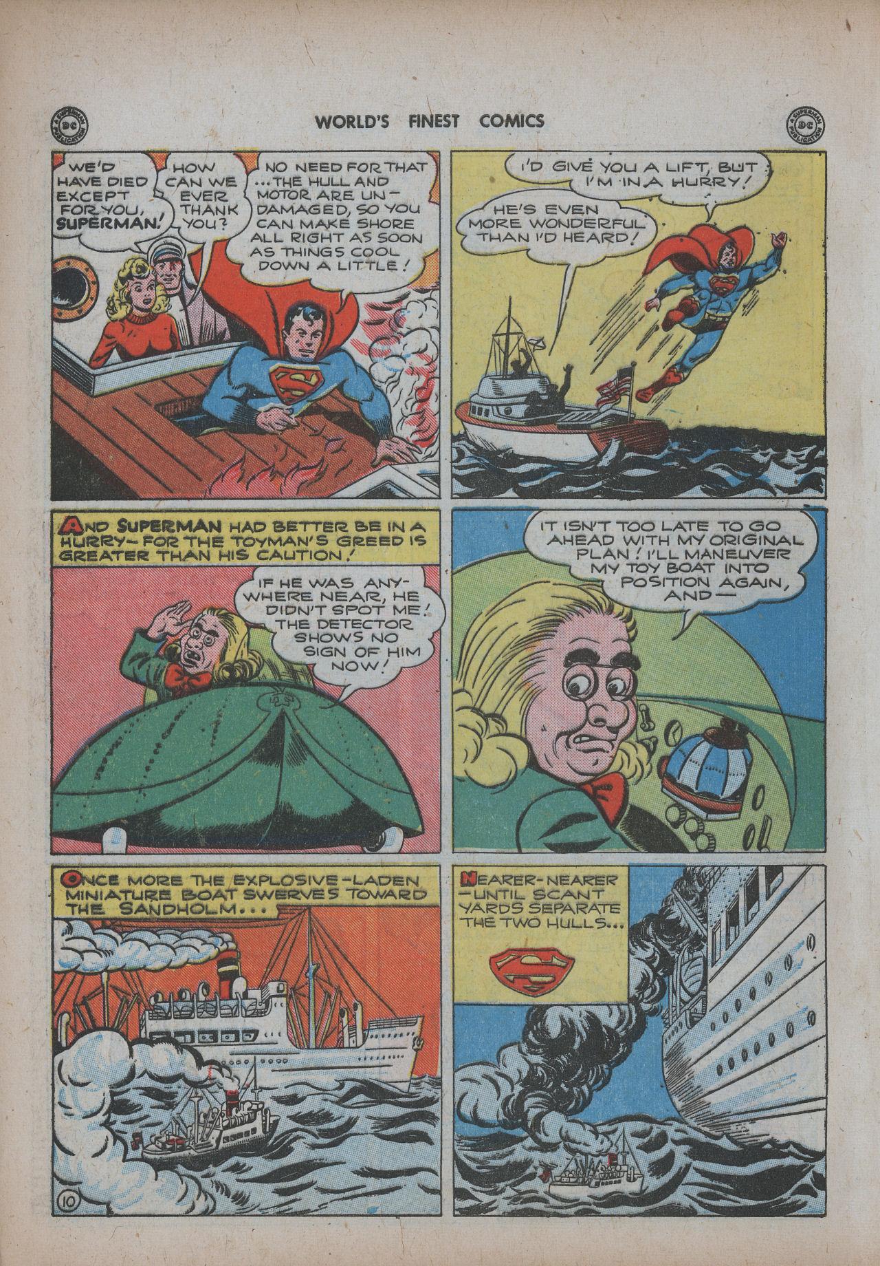 Read online World's Finest Comics comic -  Issue #20 - 12