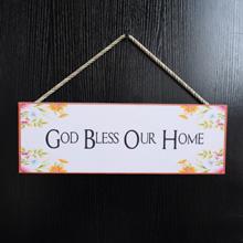 Buy Family-God-Bless-Home-Sign-Wood-Decor-Port Harcourt-Nigeria