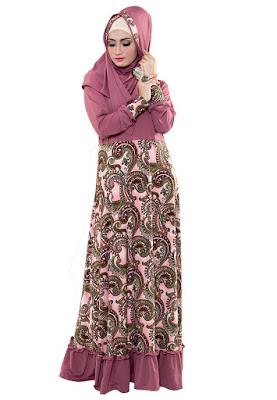 Desain Baju Gamis Pesta Mewah Terbaru Import 2016