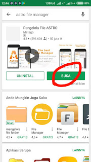 Buka Astro File Manager