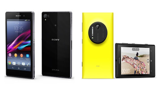 Top 5 reasons why Sony Xperia Z1 is a Nokia Lumia 1020 killer - RK World