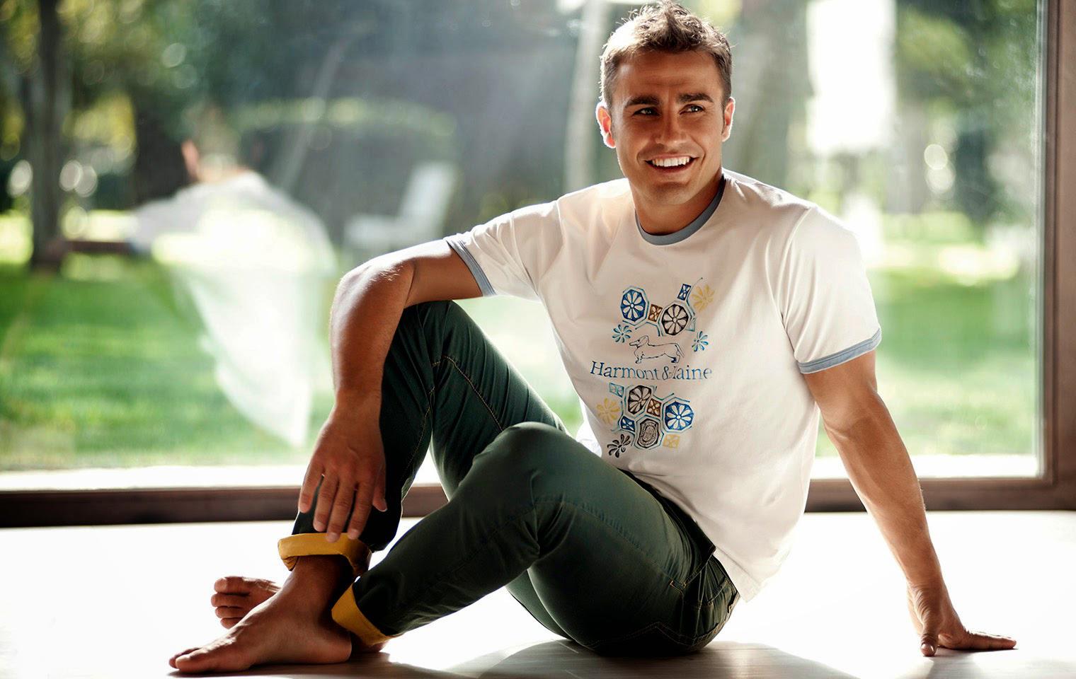 Straight Jock Feet My Favorite Fabio Cannavaro-5567