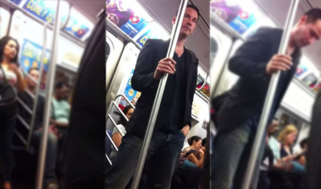 He's Just A Normal Person By Humbly Riding The Public Train! What He Did Afterwards Is Definitely Something You Should See!