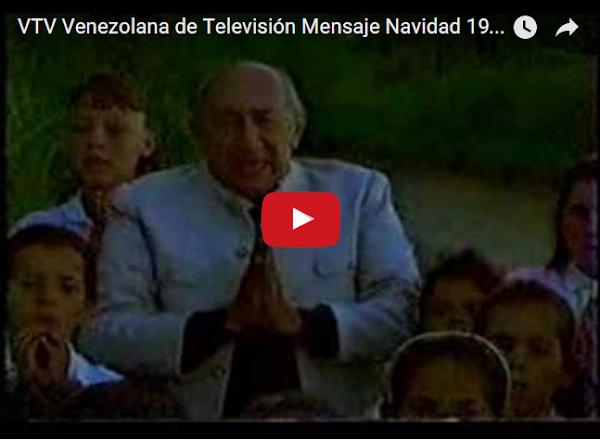 Mensajes de Navidad de Televen, VTV y otros canales, en el pasado.