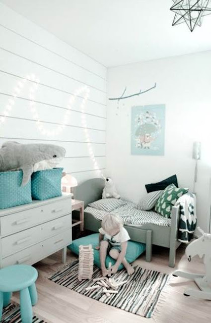 Black And White Mixed Children's Small Room 3