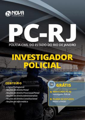 Apostila Concurso PC RJ 2020 PDF Investigador Policial Download PDF Grátis Curso Online