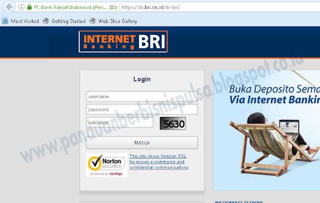 Cara Transfer Uang BRI Lewat Internet Banking