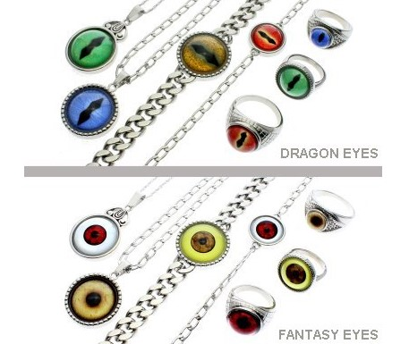 Steel Dragon Jewelry, maker of gorgeous EYE inspired designs, wants you to enter once for your chance to win one of ten pieces of their jewelry worth over $80 each!