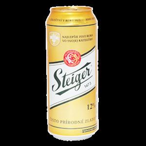 Đặt mua bia vàng Steiger ở đây