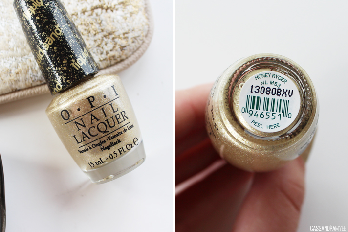 NOTD // OPI Liquid Sand in Honey Ryder - CassandraMyee