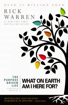 The Purpose Driven Life by Rick Warren - book cover