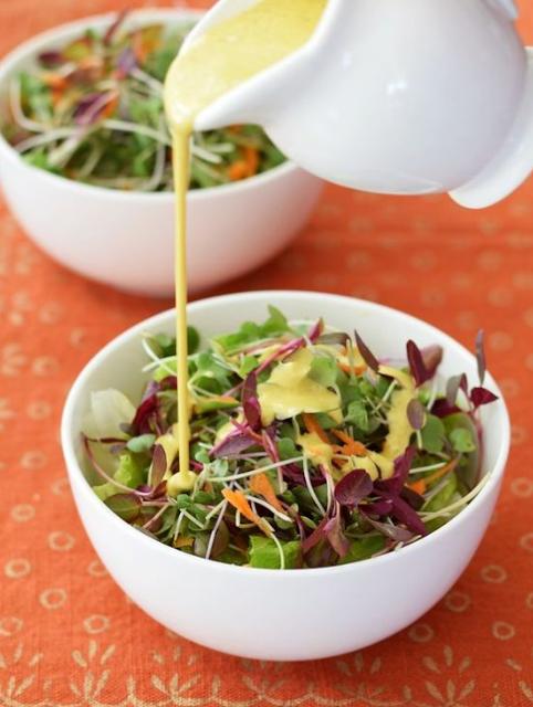 Creamy Anti-Inflammatory Salad Dressing or Sauce