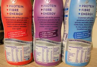 Lizis high protein low sugar breakfast milk drinks