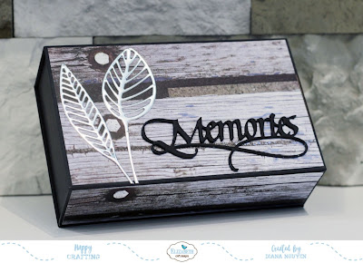 Quick and Easy Masculine Recycled Keepsake Box