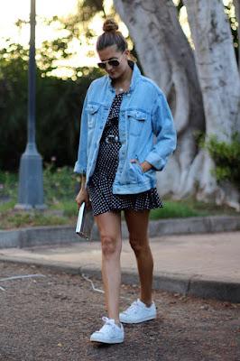 Vestidos con Zapatillas