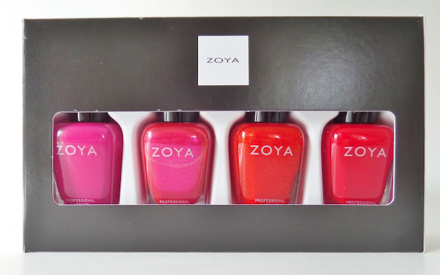 zoya merry & bright polish quad