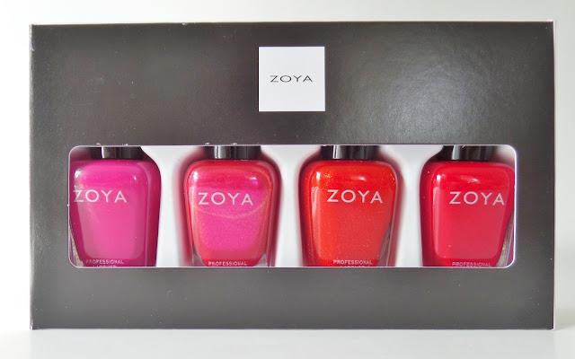 zoya merry & bright polish quad