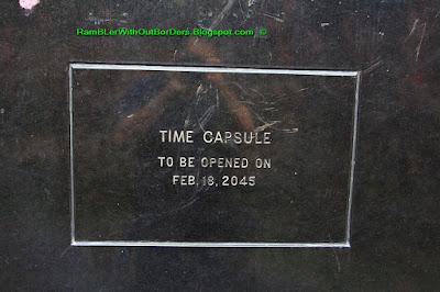 time capsule, memorare, Intramuros, Manila, Philippines